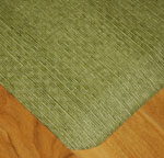 Designer Wicker Kitchen Mats