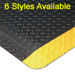 Diamond Plate Anti-Fatigue Mats
