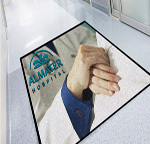 High Definition Jet Print Logo Mats