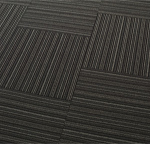 Striped Carpet Floor Mat Tiles