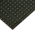 Knob Top Rubber Runner Mats