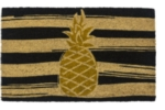 Golden Pineapple Non Slip Coir Door Mats