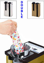 Wet Umbrella Bag Stand Dispenser - Double Wrapper