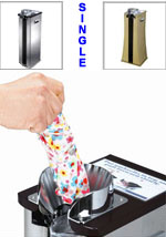 Wet Umbrella Bag Stand Dispenser - Single Wrapper