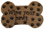 "Wipe Your Paws - 18"" x 30"""
