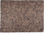 "Douglas Exotic Wood Mat - Black 18"" x 30"""