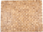 "Douglas Exotic Wood Mat - Brown 18"" x 30"""